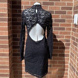 Moda International Open Back lace dress
